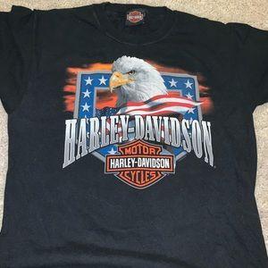 2 Harley Davidson T Shirts